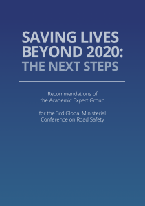Embracing a new decade of improved road safety goals