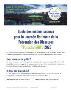 Guide pour les médias sociaux JNPB